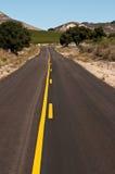 Road van Countty van de wijngaard Royalty-vrije Stock Foto