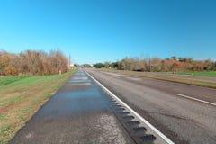 Road van Louisiane Stock Foto