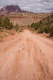 Road van Mesa van de kruisbes Royalty-vrije Stock Foto