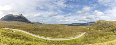 Road van Schotland Stock Foto's