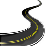 Road - vector illustration Stock Photo