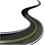 Road - vector illustration stock illustration