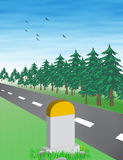 Road Vector Stock Image