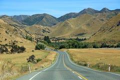 Lewis Pass road Royalty Free Stock Image