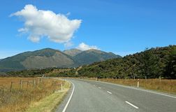 Road in the country Stock Photography