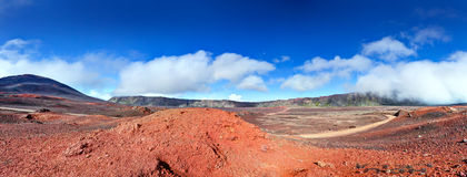 Road in volcanic landscape Stock Image