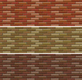 Road and wall design with bricks Royalty Free Stock Photo