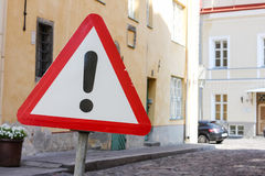 Road warning sign other danger Royalty Free Stock Photos