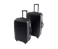 Road Warrier Suitcases. Road warrior hard shell suitcases.  Survivors of a hundred airports Stock Images