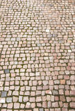 Road was paved with stone Royalty Free Stock Photography
