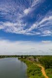 Road water sky Royalty Free Stock Photos