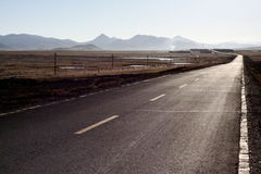 A road to lhasa. A road leading to lhasa, tibet Stock Photography