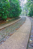 The road way to the Memorial Hall garden of Dr.Sun Yat-sen Stock Photos