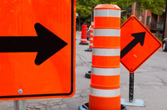 Road Work Royalty Free Stock Images