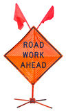 Road work ahead Stock Photos