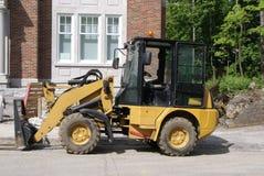 Road work machine Royalty Free Stock Image
