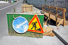 Road work Stock Photos
