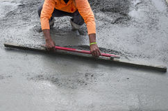 Road Working - Concrete Stock Photo