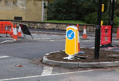 Road works Stock Photos