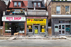 Road works Bloor Street West Royalty Free Stock Photography