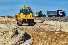 Road works Royalty Free Stock Photo