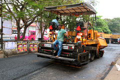 Road works, India Royalty Free Stock Photography