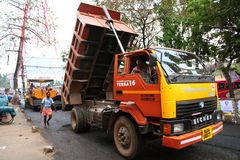 Road works, India Stock Images