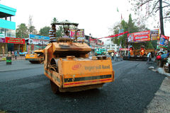 Road works, India Royalty Free Stock Images
