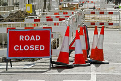 Road Works Stock Photography