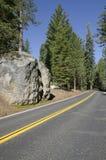 Road in Yosemite National Park Stock Image