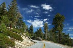 Road in Yosemite National Park Stock Photo