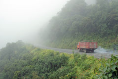 Road in Yungas, Bolivia Stock Images