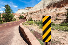 Road in Zion Royalty Free Stock Photos