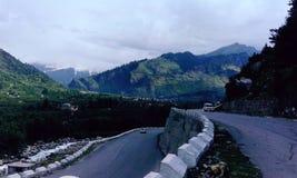 Beautiful Roadscape Royalty Free Stock Photos