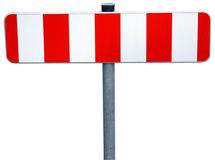 Roadblock isolated Stock Images