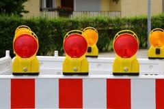 Roadblock Stock Image