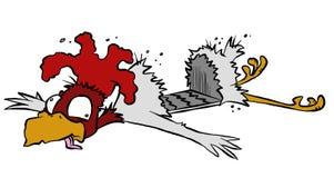 Roadkill Chicken Stock Photos
