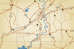 Roadmap stock illustration
