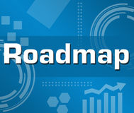 Roadmap Royalty Free Stock Image