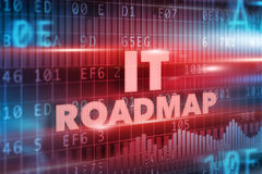IT roadmap concept Stock Photography