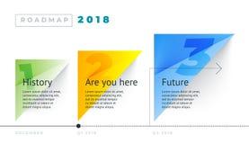 Roadmap set. Lines, arrows, timeline. For registration of sites, a road map for start-ups, polygraphy, infographics, posters. Roadmap set. Lines, arrows stock illustration