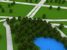 Roads Royalty Free Stock Image