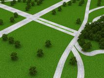 Roads Royalty Free Stock Images