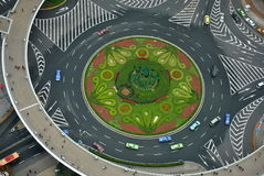 Roads. In Shanghai, China. Easy access to any part of the city Royalty Free Stock Images
