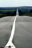 Roads. Many many km on the road Royalty Free Stock Photography