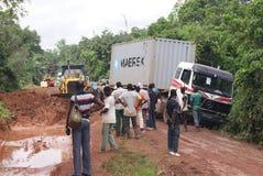ROADS_ AFRICAIN images libres de droits