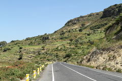 Roads along the Rift Valley in Ethiopia Stock Image