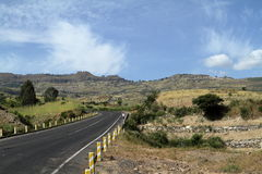 Roads along the Rift Valley in Ethiopia Stock Images
