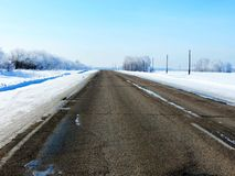 Roads Altaya Royalty Free Stock Photo