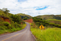 Roads Brazil Royalty Free Stock Image